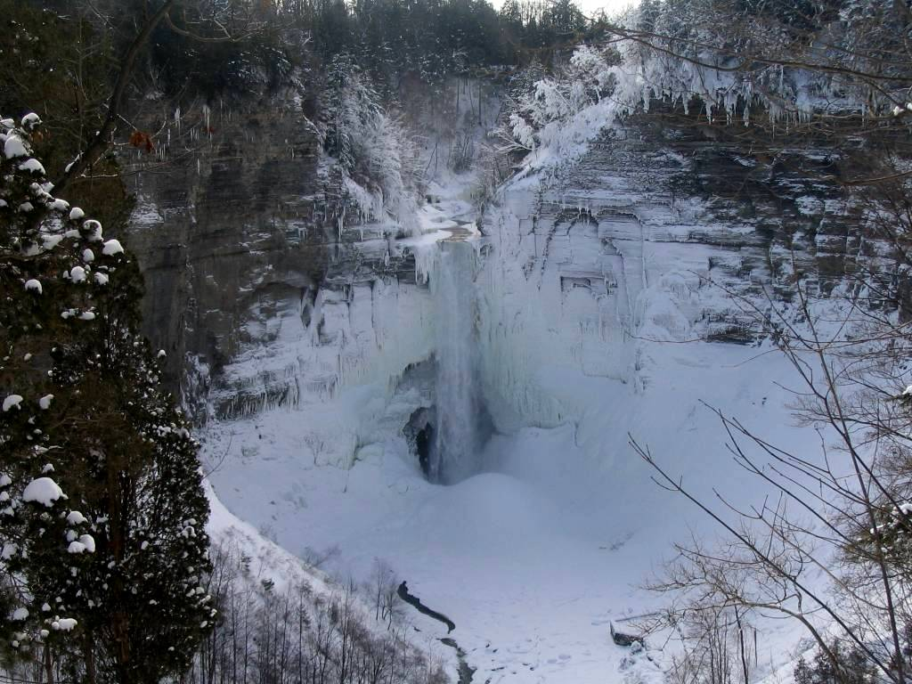 Taughannock Falls Winter